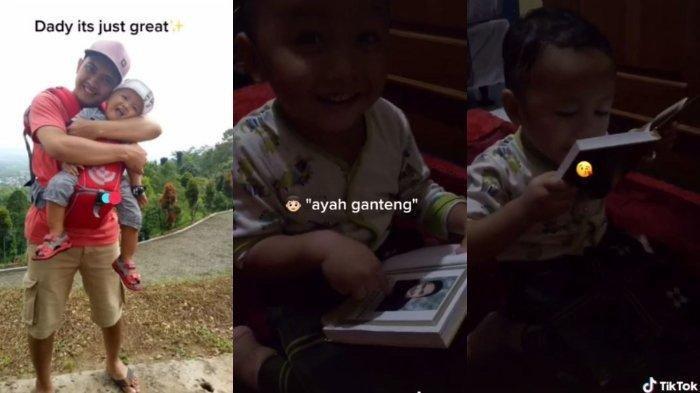 Video viral bocah rindu mendiang ayahnya dan cium foto di buku Yasin