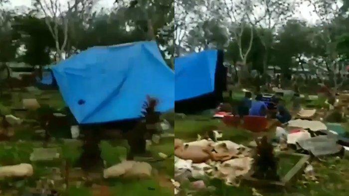 Fakta-fakta Video Viral Kuburan Dipakai Dangdutan di Depok, Ternyata Berlangsung Sampai Dini Hari