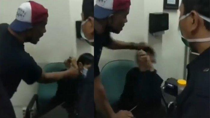 Keluarga Pasien yang Marah dan Menjambak Rambut Nakes RS BDH Surabaya Akhirnya Minta Maaf