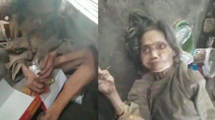 Ya Allah! Derita Nenek Muntiah, Tubuh Kurus Kering Tergeletak di Atas Ranjang, Hidup Sebatang Kara