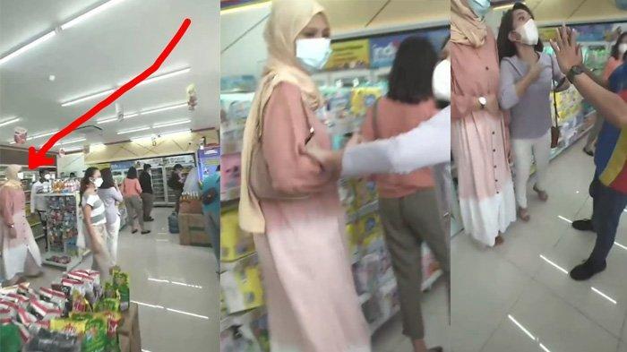Video viral wanita serobot ATM, nama Nathalie Holscher diseret-seret