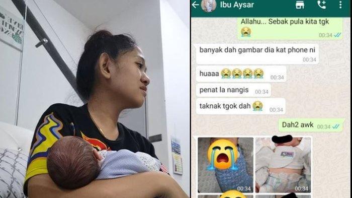 Viral chat WA 2 ibu bayinya tertukar di rumah sakit