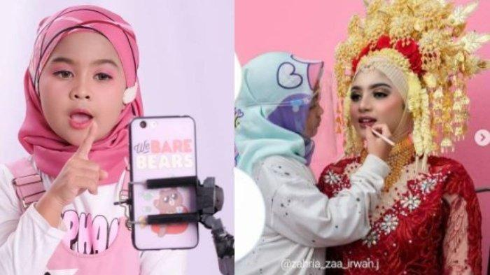 Akun Instagram Zaa, Bocah 9 Tahun yang Sudah jadi MUA, Berawal Tutorial YouTube Kini Kisahnya Viral