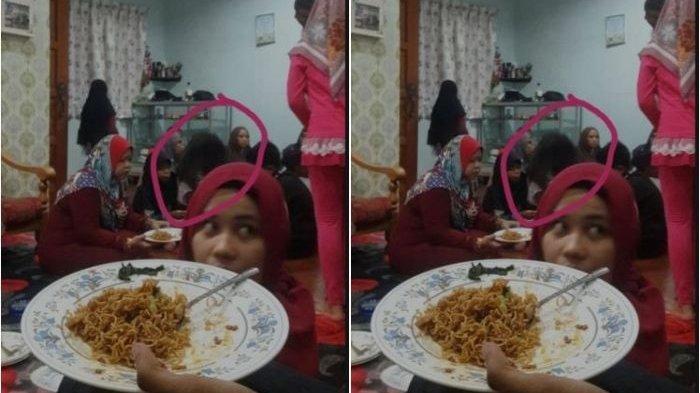 Viral Lebaran Mendadak Tegang Usai Lihat Hasil Foto Keluarga, Tamu Tak Diundang Ikut Halal Bi Halal
