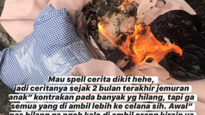 Viral Maling Celana Dalam Bikin Panik Cewek di Malang, Dikembalikan Penuh Noda Menjijikkan dan Surat