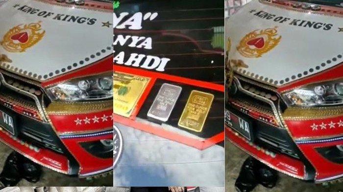 Viral Mobil Berlapis Emas Rp 40 Miliar dan Berlian Pakai Lambang Keraton, Menantu Raja Buka Suara