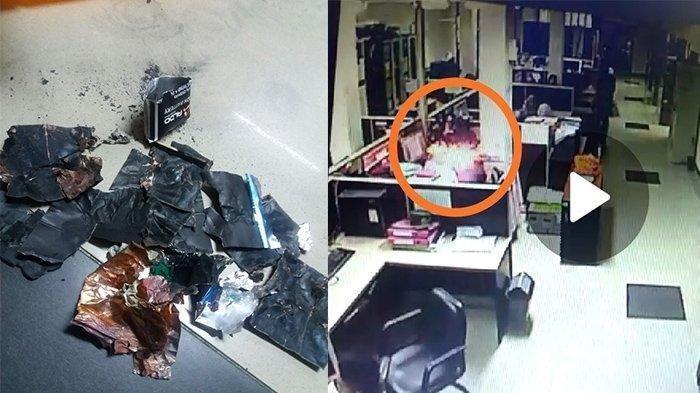 Viral Video Handphone Meledak Hingga Wajah Pegawai Perempuan Robek di Riau, Ini Penyebab HP Meledak
