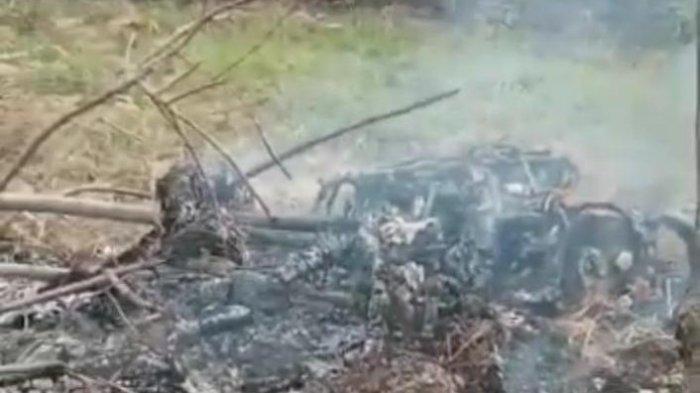 Viral Video Motor Hangus di Bangkalan, Warga Menyebut Maling Motor Dibakar Massa