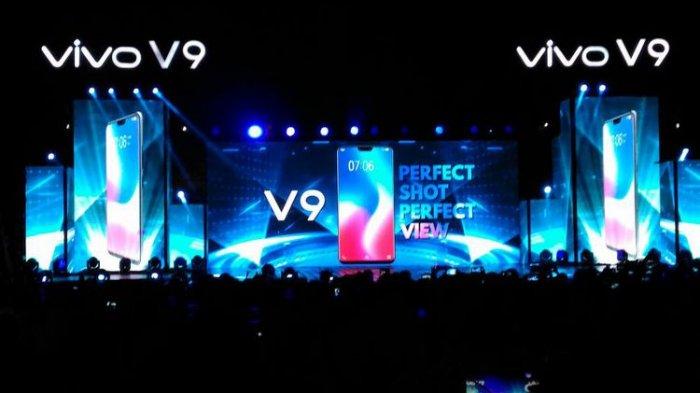 Vivo V9 Baru Diluncurkan di Borobudur, Ponsel Selfie Canggih Android 8.1 Oreo 4 Jutaan