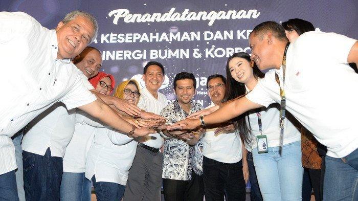 Wagub Jatim Saksikan Penandatangan Nota Kesepahaman PT Pegadaian dengan 11 Perusahaan di Surabaya