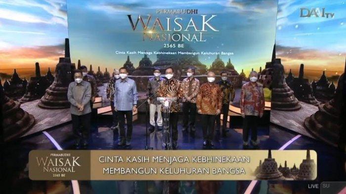 Perayaan Waisak 2021 Secara Virtual, Persatuan Umat Buddha Indonesia Sampaikan Pesan Cinta Kasih