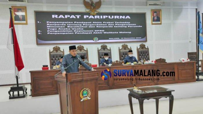 Usulkan 3 Raperda Baru, DPRD Kota Malang Bakal Selesaikan 30 Perda di Tahun 2021