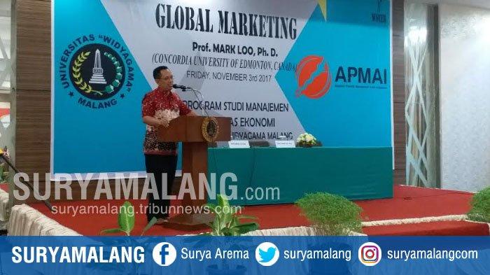 Kuliah Tamu Global Marketing, Tambah Ilmu Mahasiswa Fakultas Ekonomi Uiversitas Widyagama Malang