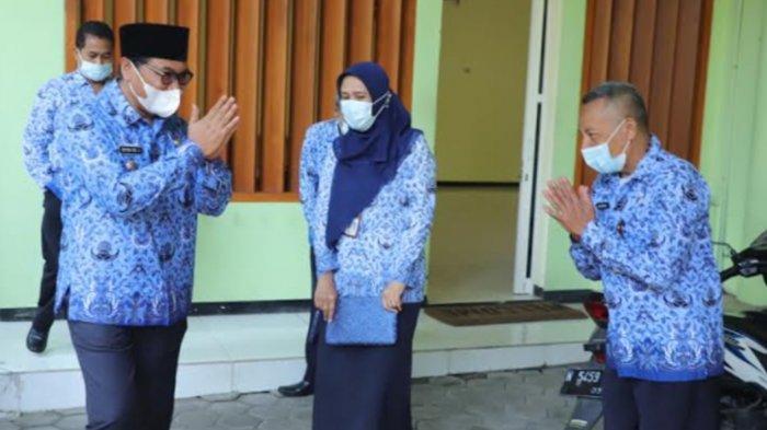 Sofyan Edi Jarwoko Pimpin Sidak Hari Pertama Kerja Kedinasan di Lingkungan OPD Pemkot Malang