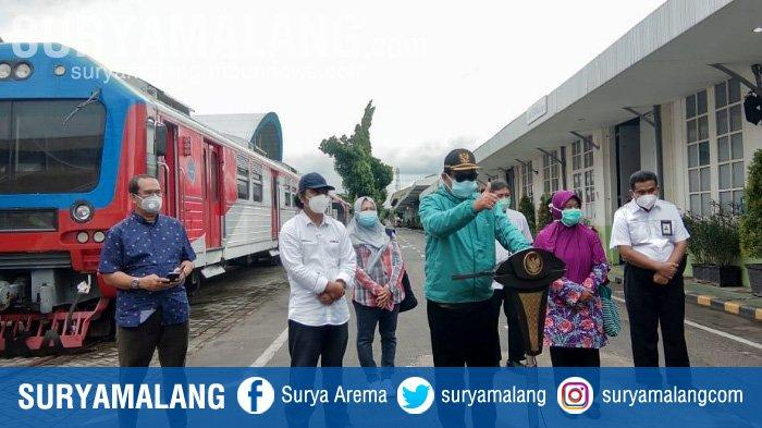 10 Pasien Covid-19 di Kota Madiun Dirawat di Kereta Isolasi
