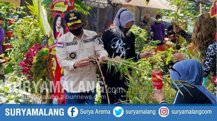 Sutiaji Apresiasi Penanaman Toga dan Urban Farming di Jalan Danau Toba RW 07 Kota Malang