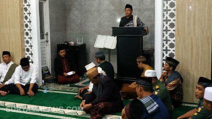 Wali Kota Malang Imbau Warga Sering Ibadah ke Masjid saat Safari Ramadan di Masjid Al Falah, Gadang