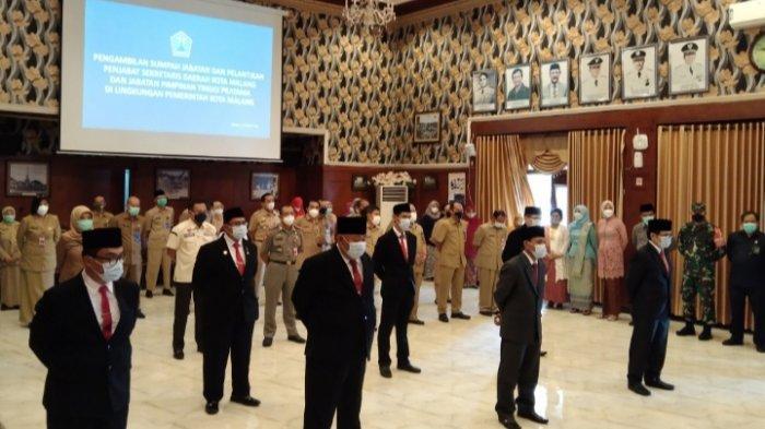 Daftar Pejabat Baru di Lingkungan Pemkot Malang
