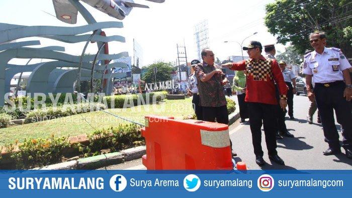 Ada Rekayasa Lalin Baru di Sepanjang Jalan Soekarno Hatta, Kota Malang