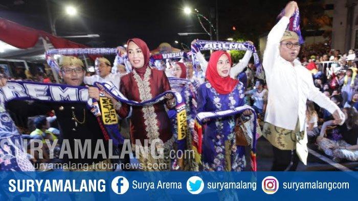 Tampilkan 10 Kostum Unik, Kota Malang Jadi Perhatian dalam Pawai Budaya Nusantara Di Kota Semarang