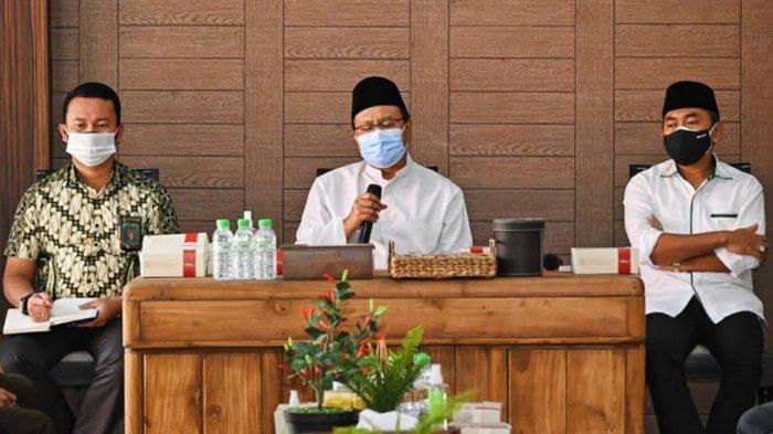 Gus Ipul Sampaikan Prosedur Penyembelihan Hewan Kurban di Pasuruan