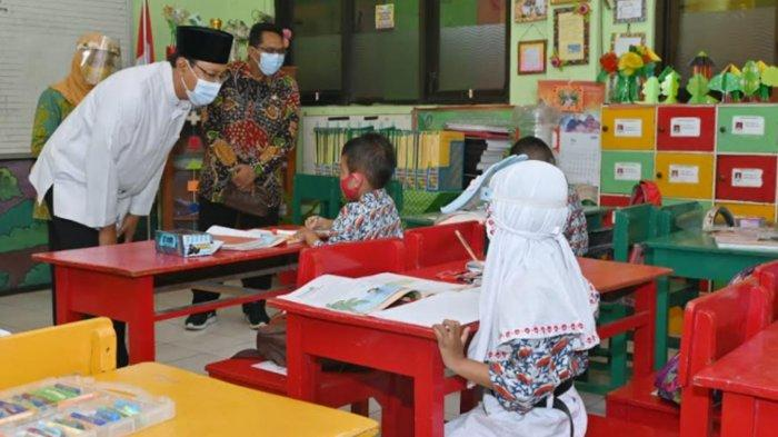 Kota Pasuruan Mulai Pembelajaran Tatap Muka, Gus Ipul Kejar Vaksinasi Pelajar 100 Persen