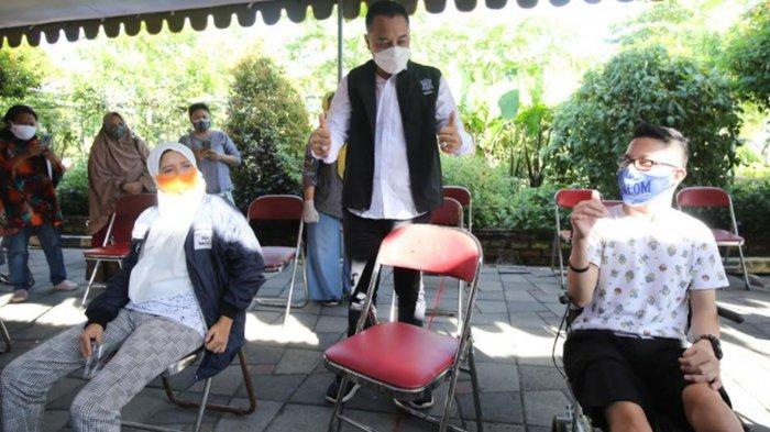 Vaksinasi Covid-19 di Surabaya Mulai Sasar ODGJ, Disabilitas, dan Difabel