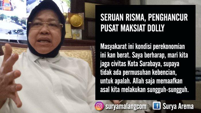 Seruan Risma untuk Aksi Demonstrasi di Surabaya