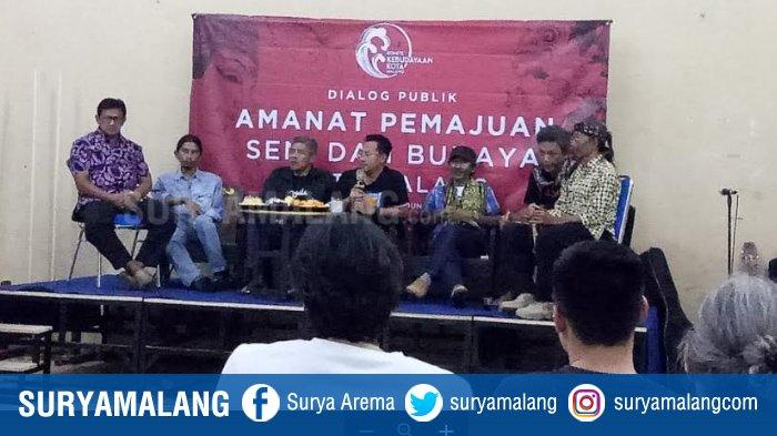 Sikapi Kasus Perundungan, Pelaku Budaya di Kota Malang Tawarkan Budayawan Mengajar