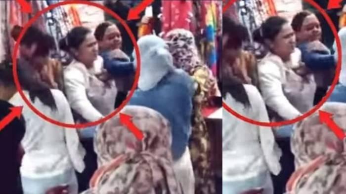 Wanita 40 Tahun Tempeleng Cewek ABG di Pasar Gara-gara Dipanggil Tante, Padahal Remaja Itu Sopan