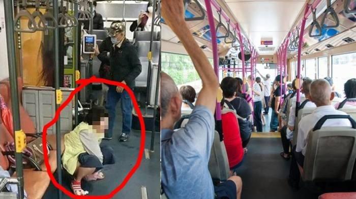 Emak-emak Buang Air Besar di Dalam Bus, Pelorot Celana Lalu Jongkok hingga Penumpang Lain Jijik