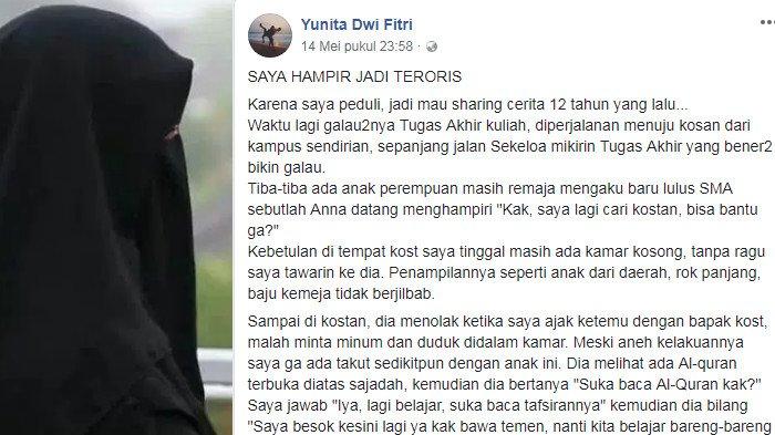 'Saya Hampir Jadi Teroris', Wanita ini Bagikan Pengalamannya Lolos dari Jeratan Kelompok Radikal