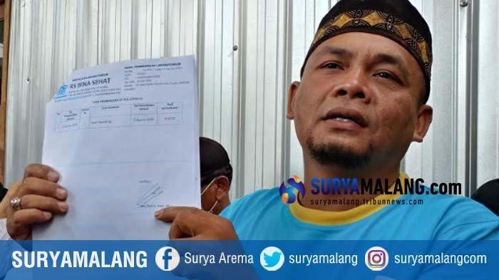 Warga Kaliwates Demo RS di Jember, Pertanyakan Ayahnya yang Divonis Meninggal Karena Corona