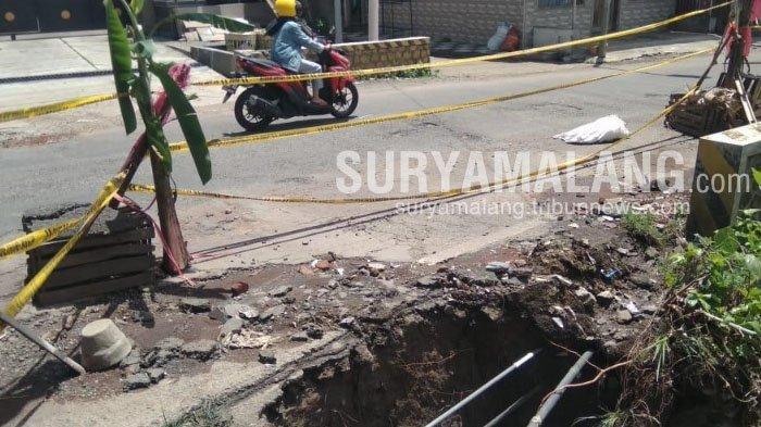 Jalanan Kota Batu Diperbaiki Jelang Lebaran 2021