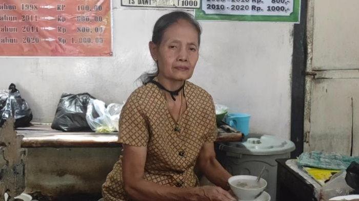 Berdiri Sejak Tahun 1984, Warung Bu Matun di Ponorogo Jual Es Dawet Seharga Rp 1000