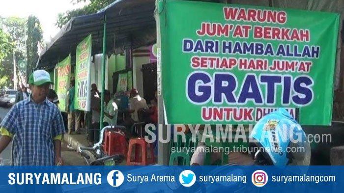 Bermula Tak Tega Terima Uang dari Gelandangan, Kini Irfan Gratiskan Makanan di Warungnya Tiap Jumat