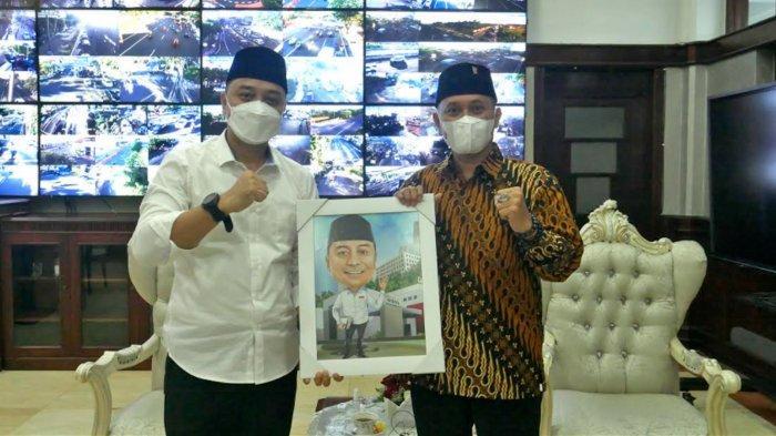Impian Wali Kota Eri Cahyadi di HUT Surabaya ke-728 (Habis), 'Sampai Kapanpun Bu Risma Guru Saya'