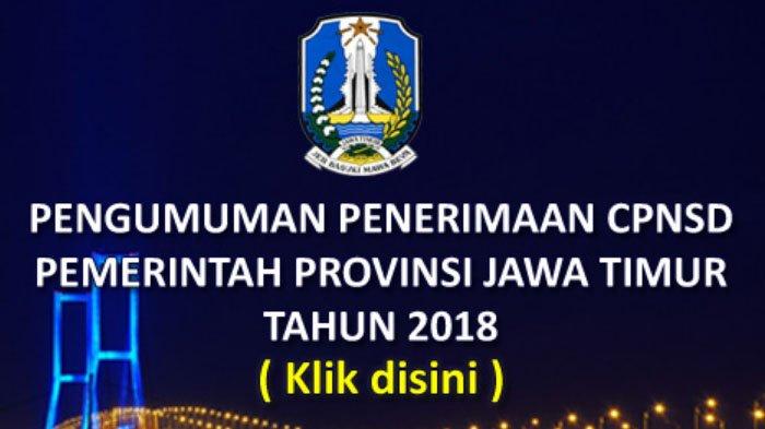 Informasi Lengkap Rekrutmen CPNS 2018 Pemprov Jatim, Mulai Jadwal Pendaftaran sampai Website Resmi