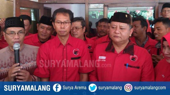 Wakil Wali Kota Surabaya Whisnu Sakti Buana Daftar Bakal Calon Wali Kota Surabaya ke DPC PDIP