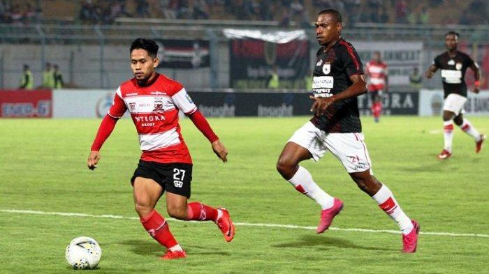 Madura United Takluk 0-2 dari Persipura di Kandang, Pelatih Beralasan Akibat Gol Cepat Pihak Lawan