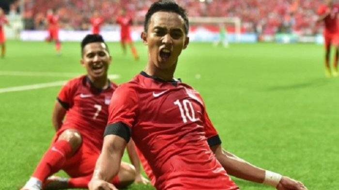 Timnas Indonesia Vs Singapura Piala AFF 2018, Pemain Singapura Ini Sesumbar akan Hentikan Evan Dimas