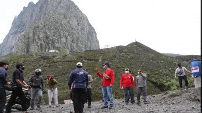 Wisata Gunung Kelud Resmi Dibuka, Pemkab Kediri : Pengunjung Wajib Terapkan Protokol Kesehatan
