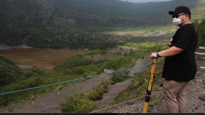 Wisata Gunung Kelud Kabupaten Kediri yang dilakukan uji coba pembukaan sejak Sabtu (10/4/2021)