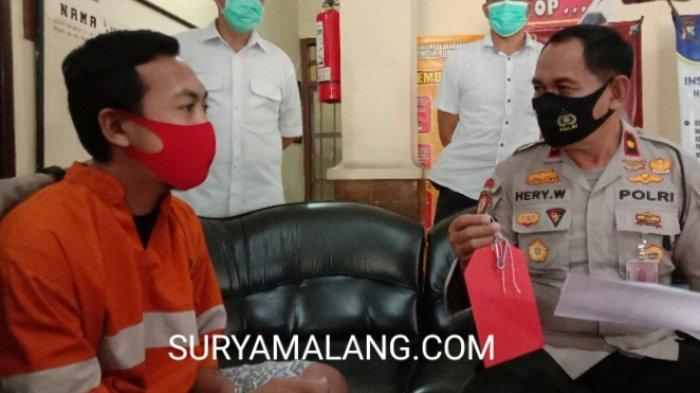 Maling Pakai Kunci Temuan untuk Mencuri Motor Pemilik Warung di Kota Malang