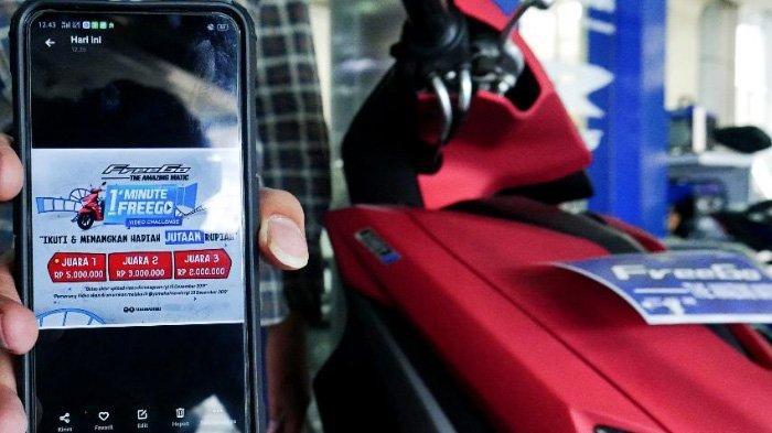 Yamaha Gelar Lomba Video '1 Minute Freego Video Challenge' Berhadiah Sampai Rp 10 Juta