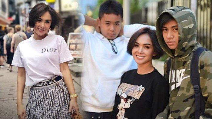 Potret Seksi Yuni Shara Saat Travelling ke Jepang Bareng 2 Putranya, Pakai Rok Mini Bak ABG