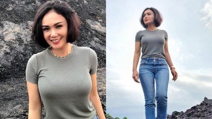 Yuni Shara Mengaku Kecantikannya Palsu, Wajah Awet Muda Ternyata Efek Filter HP, Begini Muka Aslinya