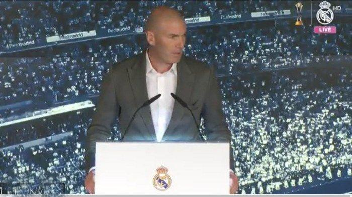 Detik-Detik Zinedine Zidane jadi Pelatih Real Madrid Kembali, Gusur Wacana Balik Jose Mourinho