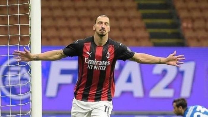 AC Milan Dihantam Nasib Buruk, Zlatan Ibrahimovic Terancam Absen Tiga Pekan, Ini Penyebabnya