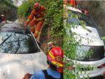 kecelakaan-mobil-outlander-terperosok-di-parit-jalan-wood-land-citraland-utara-surabaya.jpg